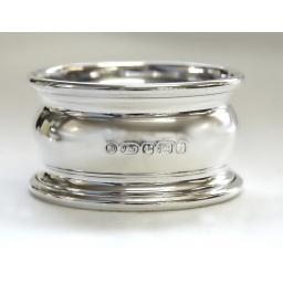 Sterling Silver Georgian Napkin Ring