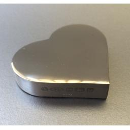 Sterling Silver Heart Paperweight