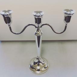 Sterling Silver 3 light Candelabras