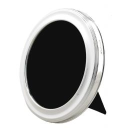 Z DISCONTINUED Sterling Silver Round Photo Frames