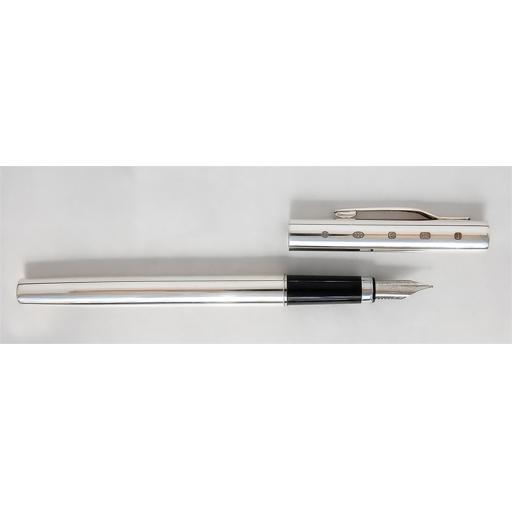 Joe Mason Sterling Silver Fountain Pen