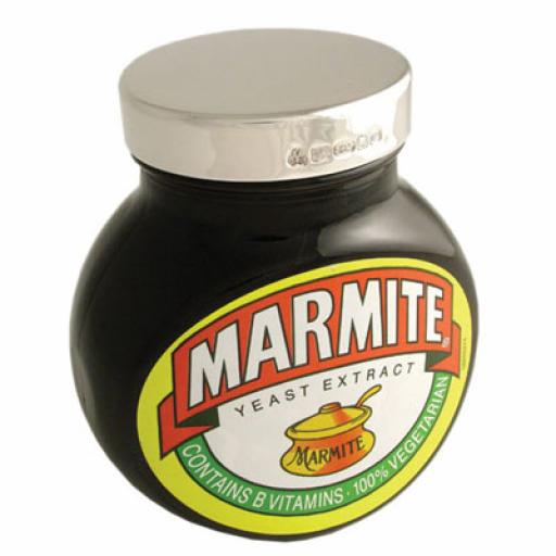 Silver Marmite Lids For 125g, 250g and 500g Marmite