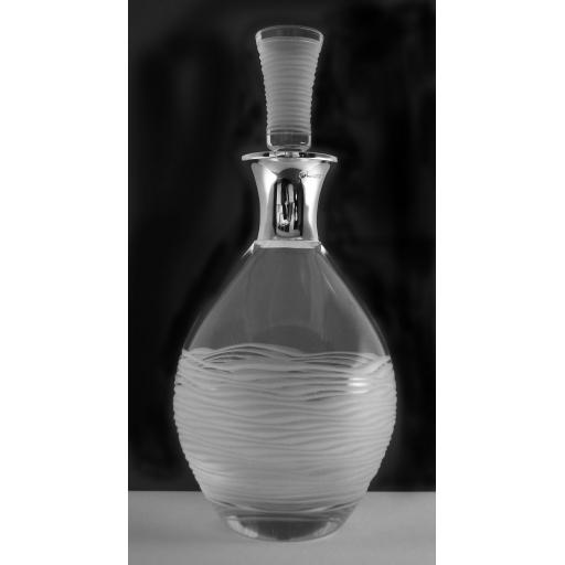 Sterling Silver Mounted Ice Decanter