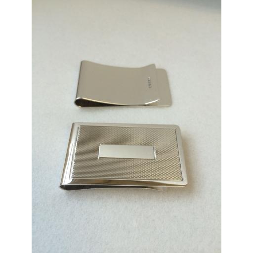 29mm wide Sterling Silver Money