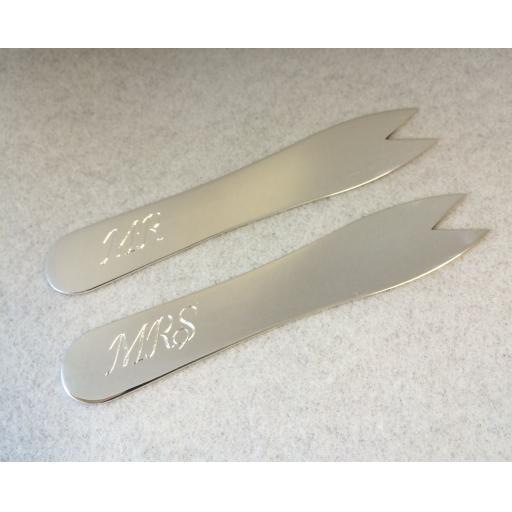 Sterling Silver Chip Fork