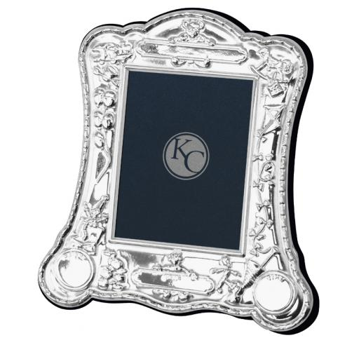 Silver Christening Frame