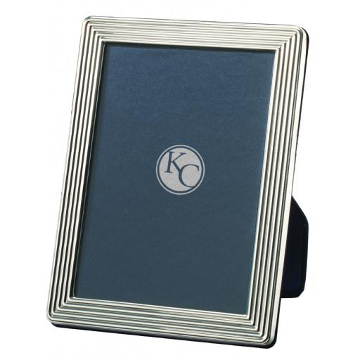 Traditional Milled Photo Frame - Sterling Silver