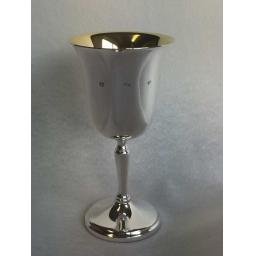 Sterling Silver Goblet with Gilt Inside from Kitney & Co